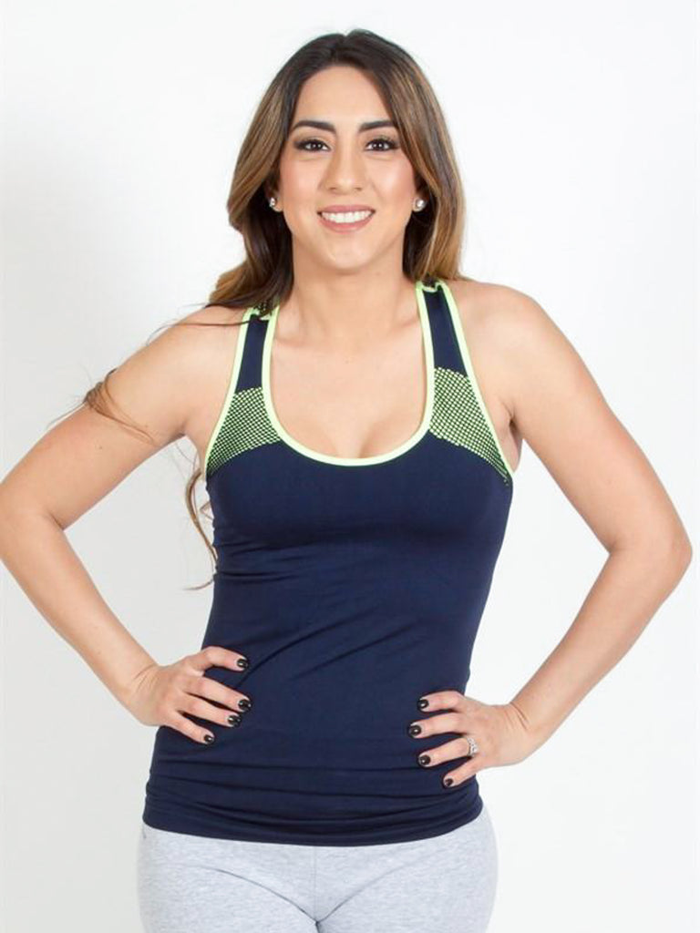 Allison Avery - Mesh Workout Tank - Free Shipping Over $50