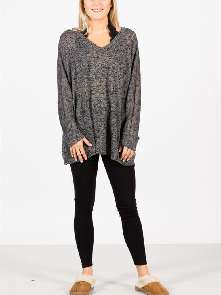 Allison Avery - Thick Knit Leggings - Free Shipping Over $50