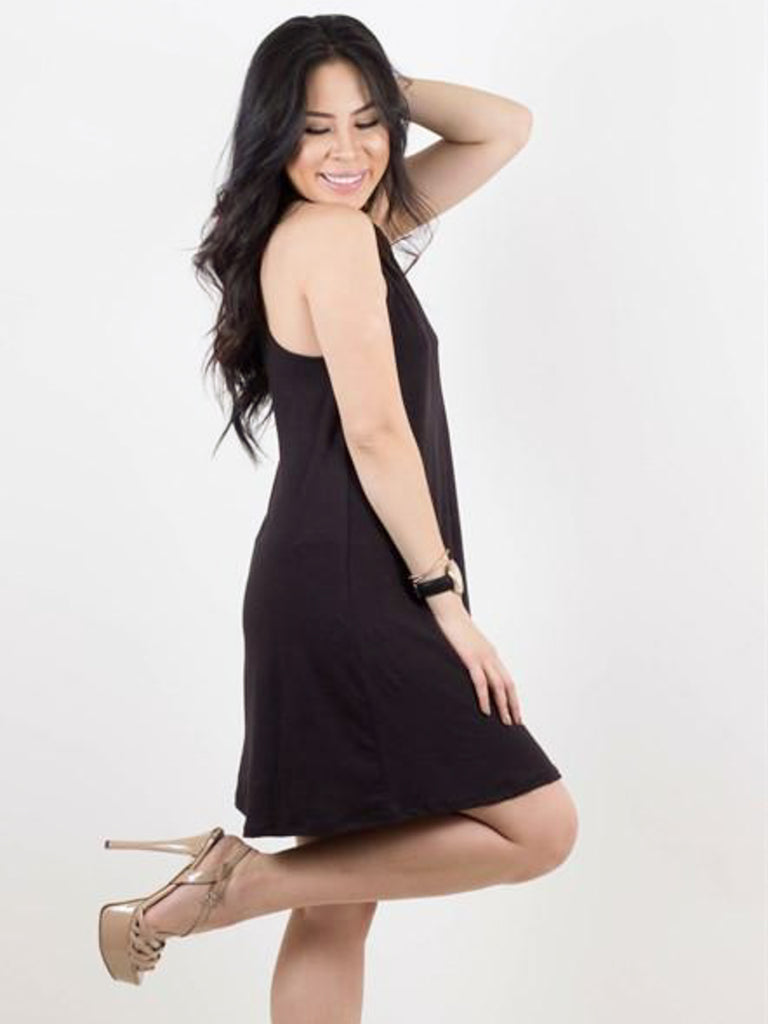 Allison Avery - High Neck Tank Tunic - Free Shipping Over $50