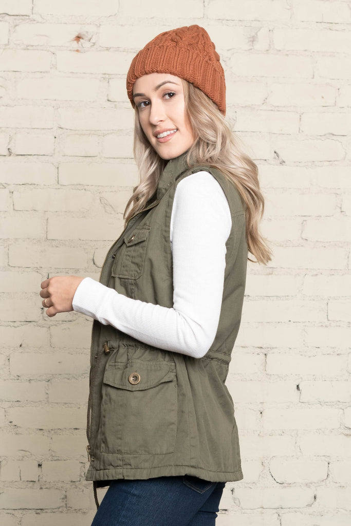 Allison Avery - Utility Vest - Free Shipping Over $50