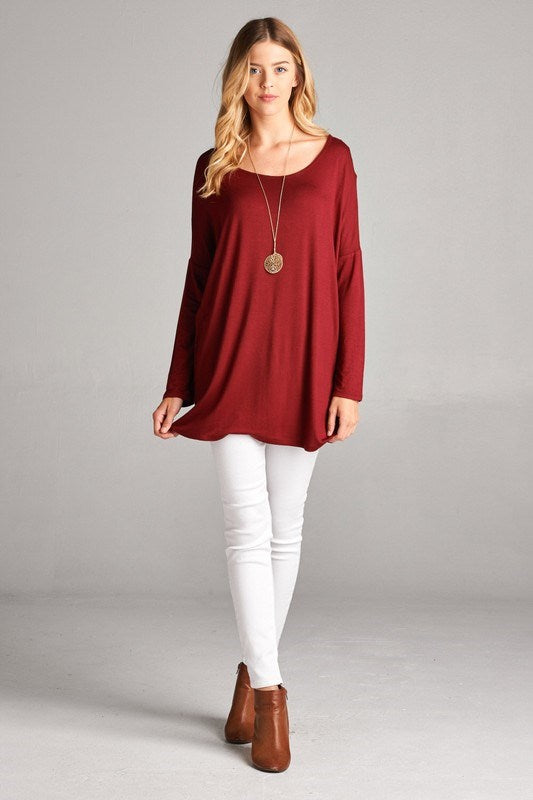 Naturally Soft Long Sleeve Tunic