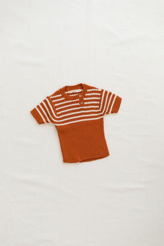 Fin & Vince Ginger Heritage Knit Top
