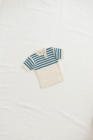 Fin & Vince Ocean Stripe Knit Set