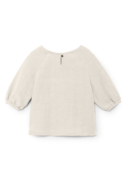 Little Creative Factory Ivory Baby Lucia's Oversized Blouse