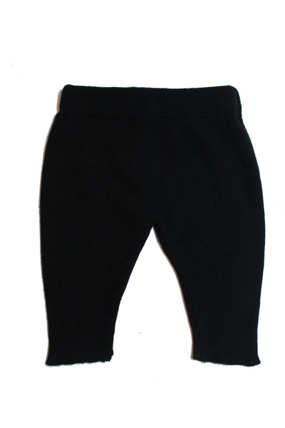 Little Creative Factory Black Baby Tricot Leggings