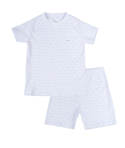 Livly Stockholm Blue Mini Sleeping Cutie Summer PJ
