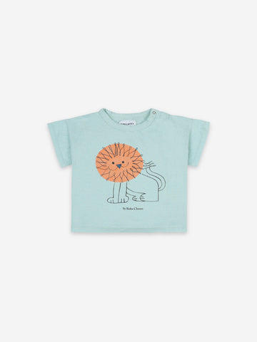 Bobo Choses Baby Pet A Lion Short Sleeve Tshirt