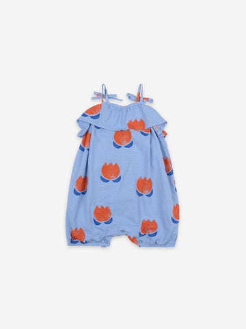 Bobo Choses Flower All Over Woven Romper