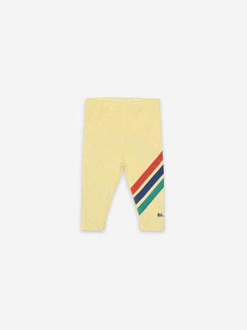 Bobo Choses Baby Crosswise Stripes Leggings