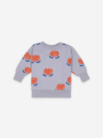 Bobo Choses Baby Chocolate Flower Sweatshirt