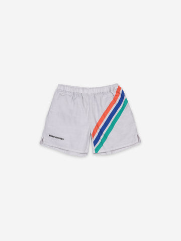 Bobo Choses Crosswise Stripe Woven Short
