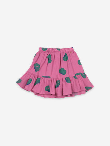 Bobo Choses Tomatoes All Over Ruffle Mini Skirt