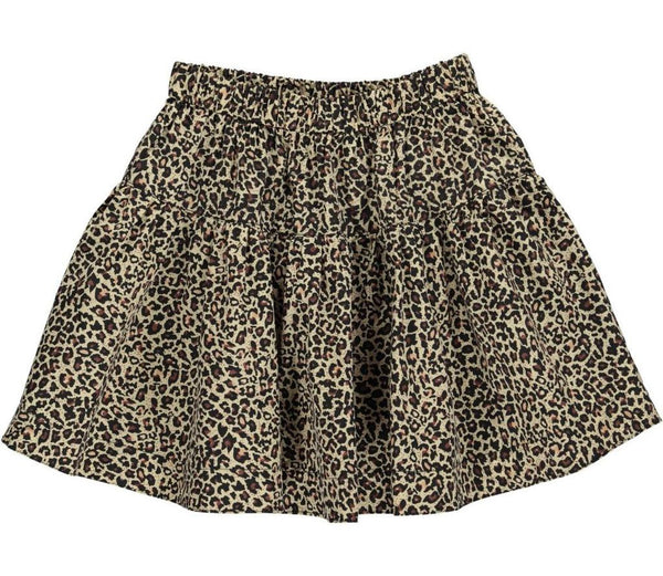 Marmar Light Brown Leopard Skirt