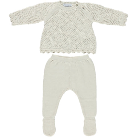 Bebe Organic Natural Harmony Knit Set