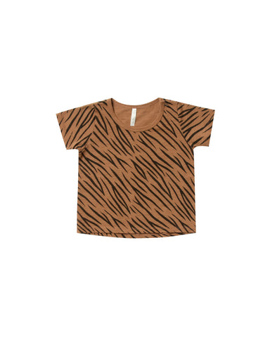 Rylee & Cru Tiger Stripe Basic Tee