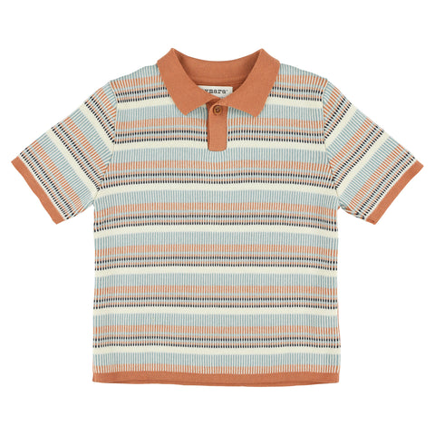 Aymara Copper Eric Polo Sweater