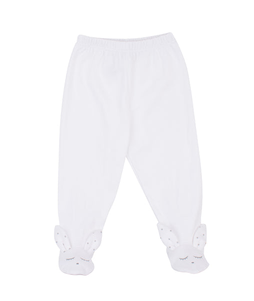 Livly Stockholm White Bunny Footed Legging