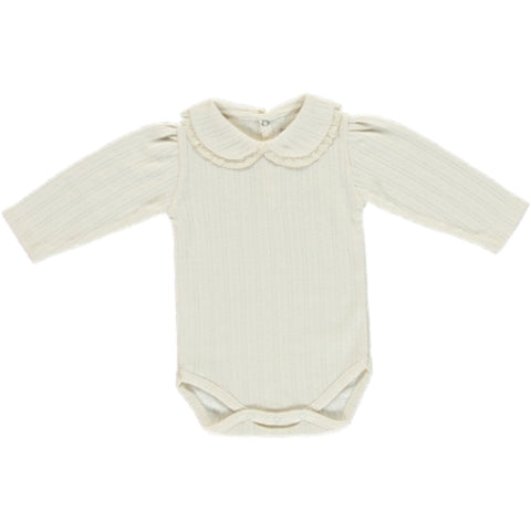 Bebe Organic Natural Bebe Pouf Onesie & Footed Legging