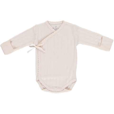 Bebe Organic Light Pink Bebe Wrap Onesie & Footed Legging