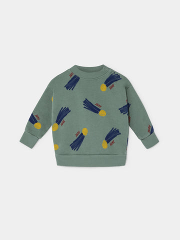 Bobo Choses Baby All Over A Star called Home Sweatshirt