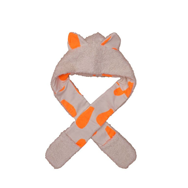 Noe & Zoe Cat Hat Orange Drops