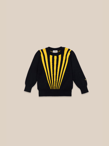 Bobo Choses Stripes Removable Collar Jumper