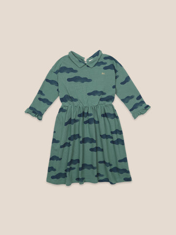 Bobo Choses Clouds All Over Girls Dress