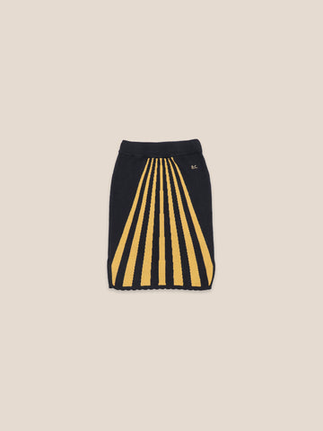 Bobo Choses Stripes Knitted Skirt
