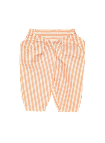 Macarons Stripe Peach Pant Light Weight