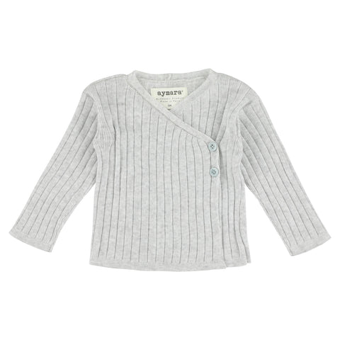 Aymara Light Grey Alba Cardigan