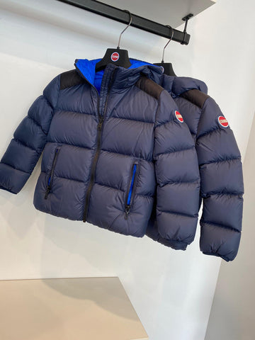 Colmar Navy Hooded Winter Jacket