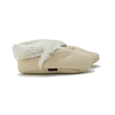 Kina Booties Lamb Booties Cream