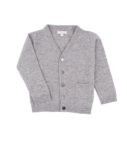 Livly Silver Grey Cashmere Cardigan