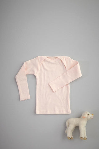 Flora and Henri Rib Lap Shoulder L/S Tee Blossom