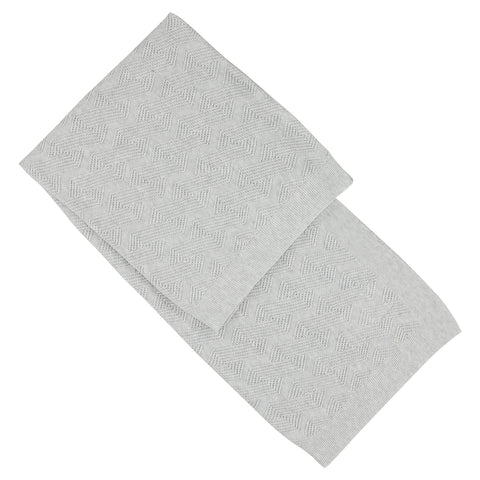 Aymara Light Grey Evie Baby Blanket