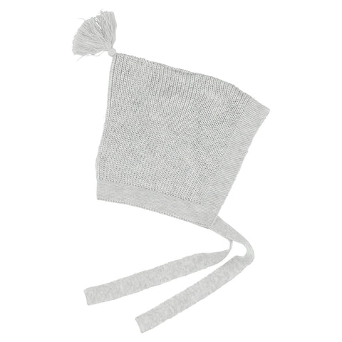 Aymara Light Grey Coco Baby Hat