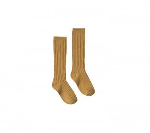Rylee & Cru Marigold Solid Knee Socks