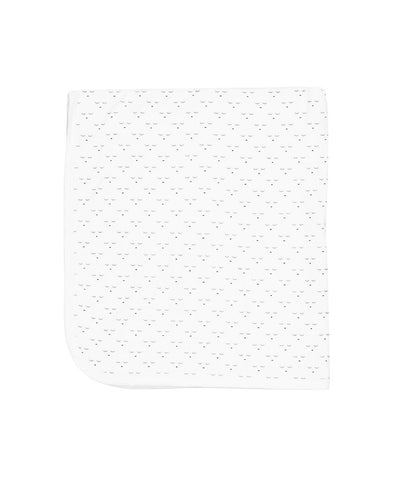 Livly Stockholm White Mini Sleeping Cutie Blanket