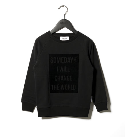 Someday Soon Black Ivan Sweatshirt