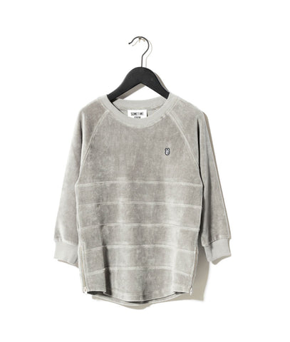 Sometime Soon Grey Wash Avenue Sweatshirt