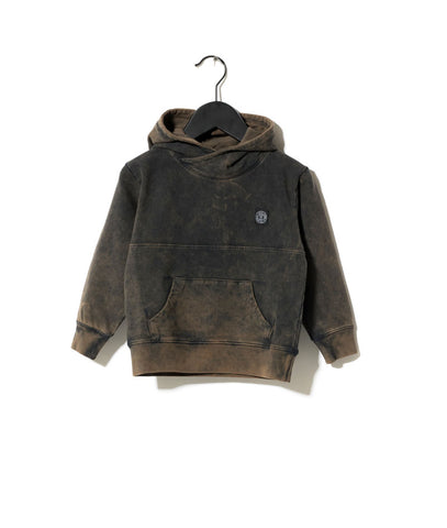 Sometime Soon Brown Lava Wash Blaze Sweatshirt