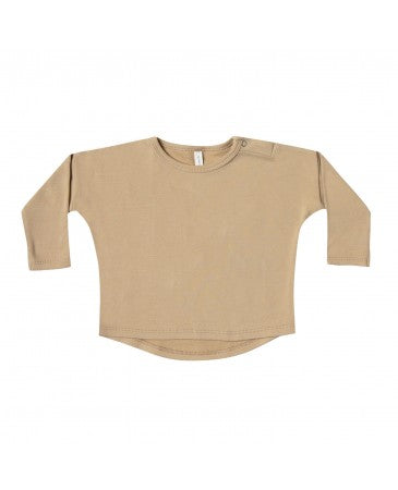Quincy Mae Honey Long Sleeve Tee