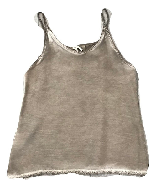 Essence Smokey Grey Gillet Slip Top