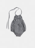 Belle Enfant Navy Gingham Sunsuit