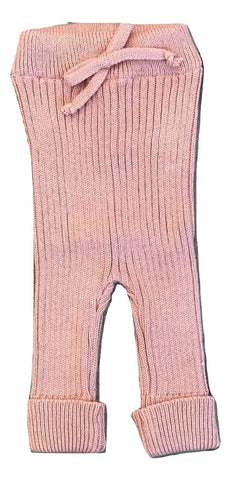 Message in The Bottle Pink Knit Leggings