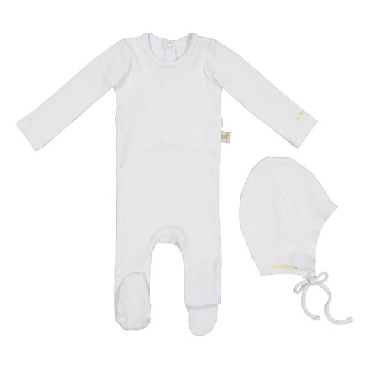 Zeebra White Ribbed Gift Set