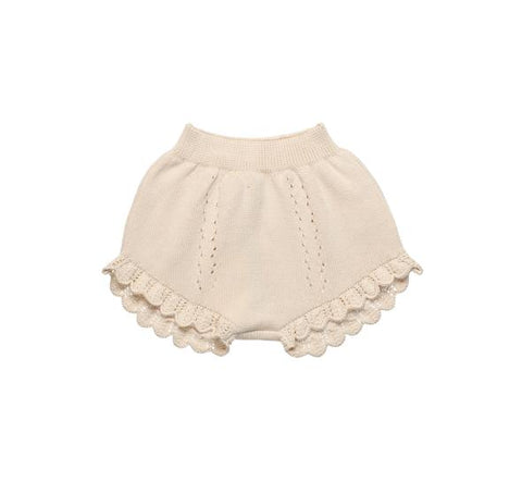 The New Society Natural Alice Knit Shorts