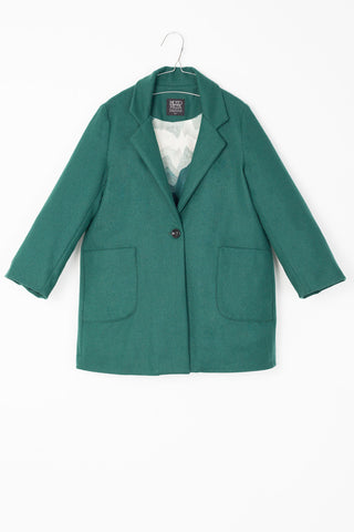 Motoreta Bottle Green Tess Coat