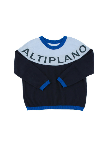 Tinycottons Navy Altiplano Sweater Oversized