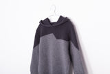 Motoreta Dark Grey & Black Hoodie Sweater